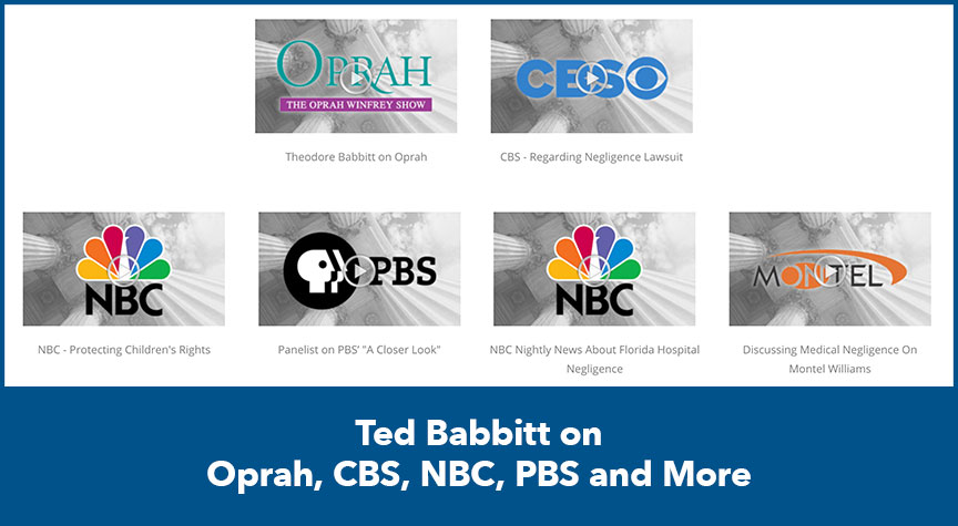 Ted Babbitt on Oprah, CBS, NBC, PBS and More