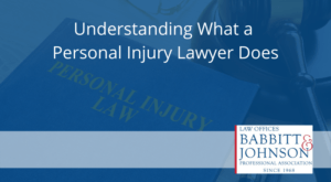understanding what a personal injury lawyer does