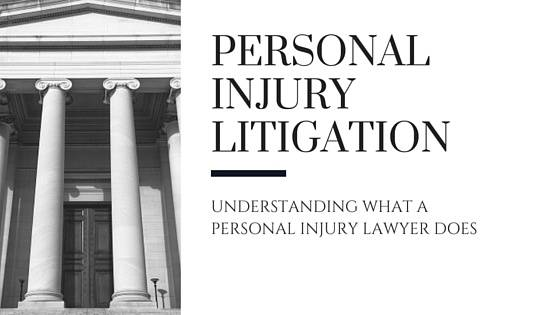 What does a personal injury lawyer do