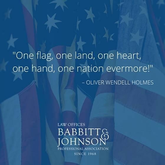 Babbitt-Flag-Quotes