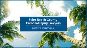 Palm Beach County Personal Injury Lawyers