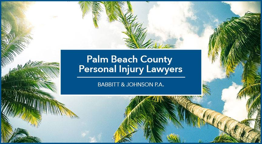 Palm Beach County Personal Injury Lawyers