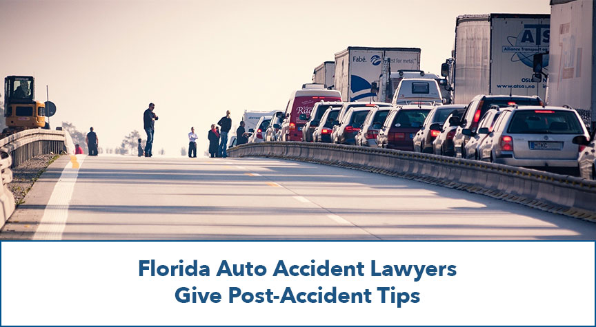 Florida Auto Accident Lawyers Give Post-Accident Tips