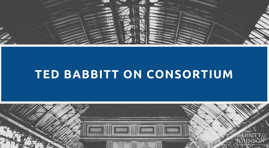 Ted Babbitt on Consortium