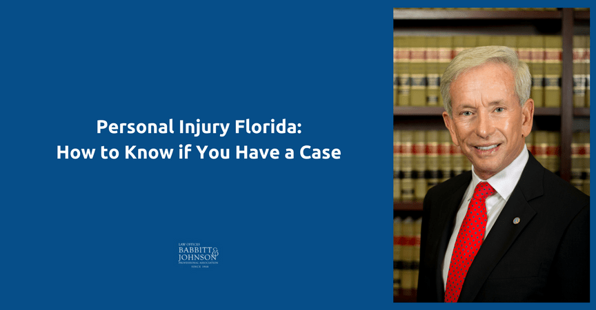 Personal Injury Florida: How to Know if You Have a Case