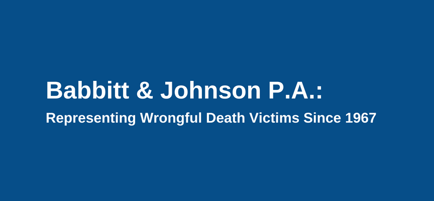 Florida Wrongful Death Lawyers