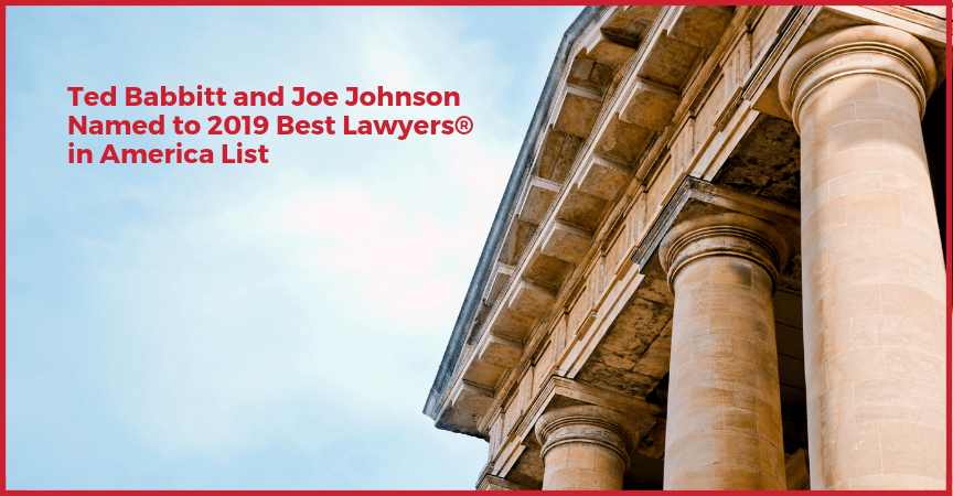 Both Babbitt & Johnson P.A. Partners Named to 2019 Best Lawyers® in America List