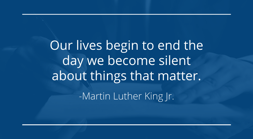 A Quote by Martin Luther King Jr.