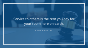 a quote on service