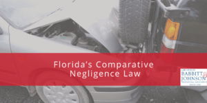 Florida's Comparative Negligence Law