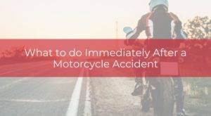 what to do after motorcycle accident