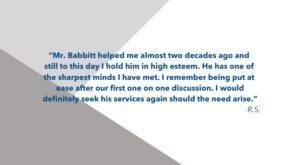 R.S. Review of Ted Babbitt