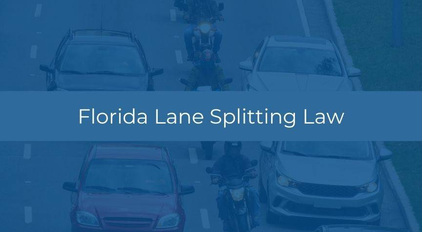 Florida Lane Splitting Law
