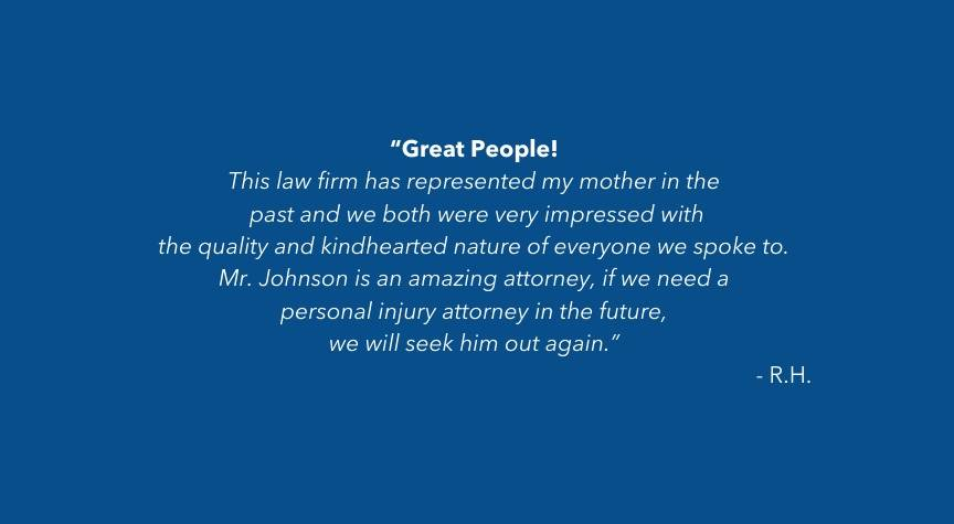 Working With Florida Personal Injury Lawyer Joe Johnson – Client Testimonial