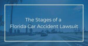 the stages of a florida car accident