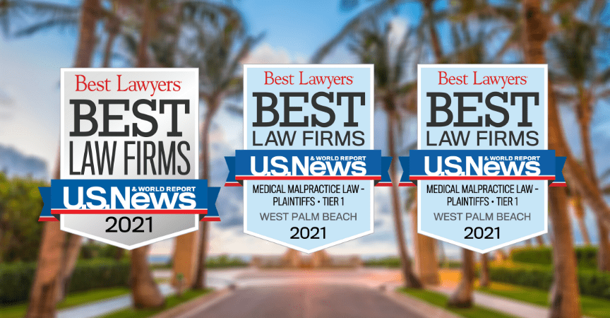 "West Palm Beach Personal Injury Firm Ranked in 2021 ""Best Law Firms"" List"