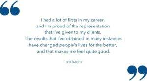 ted babbitt florida personal injury attorney changing peoples lives